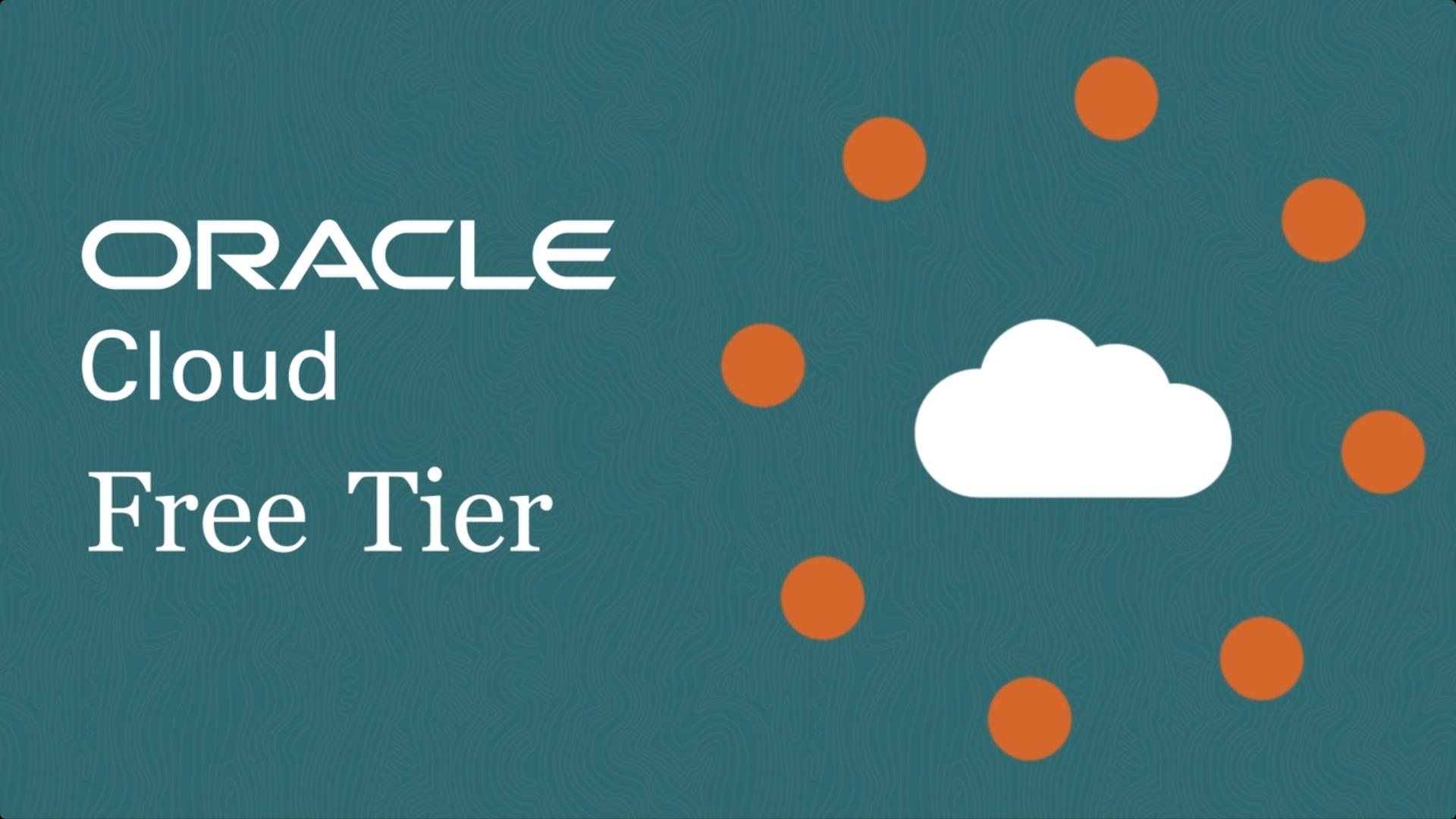 Oracle Free Cloud