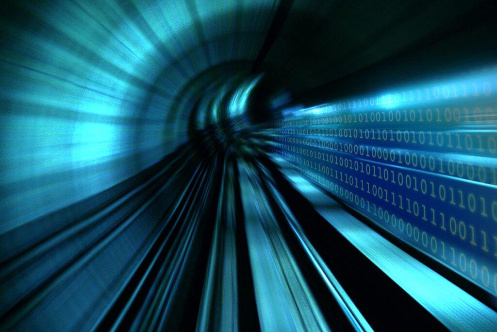digitale trein